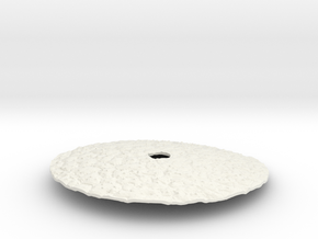 Poaceae Cover Lid in White Natural Versatile Plastic