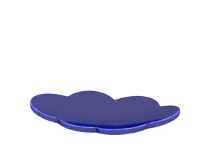 Ring dish in Gloss Cobalt Blue Porcelain