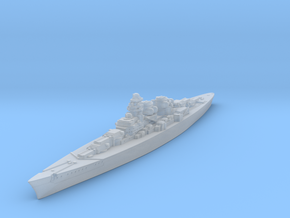 H-39 Class German Battleship (Global War Scale) Qt in Smooth Fine Detail Plastic