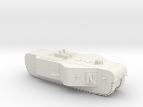 K-Wagen (15mm) in White Natural Versatile Plastic