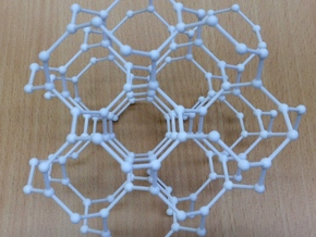 hyperoctagon lattice in White Natural Versatile Plastic