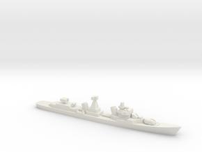 Kotlin-class destroyer (w/ SA-N-1B), 1/2400 in White Natural Versatile Plastic