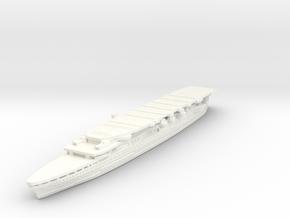 1/2400 IJN Akagi 1927 in White Processed Versatile Plastic
