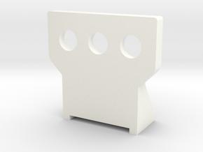 Wessex Single Step in White Processed Versatile Plastic