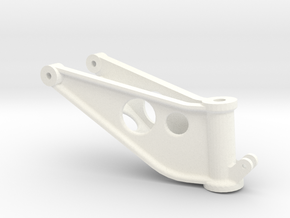 Wessex tail wheel yoke in White Strong & Flexible Polished