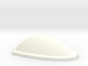 Wessex Nose Vent in White Processed Versatile Plastic