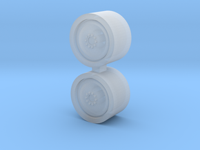 1/64 18.4-26 Gleaner Wheels - 1 Pair in Frosted Ultra Detail