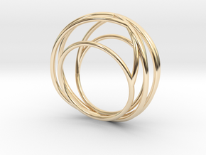 Nouv I (Medium) in 14K Yellow Gold