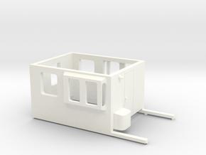 SBB Sputnik Wagenkasten in White Processed Versatile Plastic