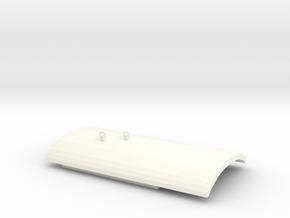 SBB Sputnik Dach in White Processed Versatile Plastic
