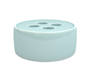 Paperweight in Gloss Celadon Green Porcelain