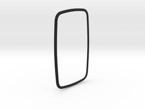 Fiesta ST Shifter Boot Bezel in Black Natural Versatile Plastic