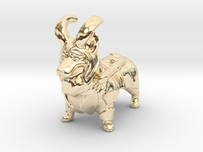 LoCorgi (Loki Corgi)  in 14K Yellow Gold