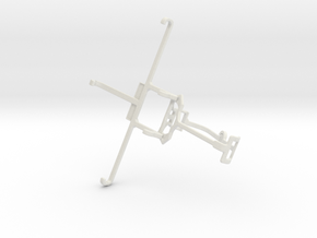 Controller mount for Xbox One & Allview P6 Pro in White Natural Versatile Plastic