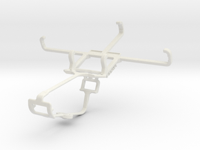 Controller mount for Xbox One & BLU Advance 4.0 L2 in White Natural Versatile Plastic