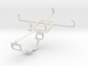 Controller mount for Xbox One & BLU Dash L in White Natural Versatile Plastic