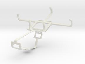 Controller mount for Xbox One & BLU Dash L2 in White Natural Versatile Plastic