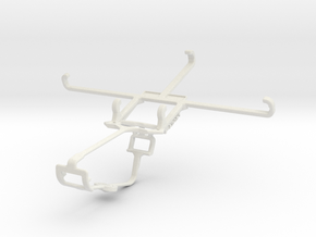 Controller mount for Xbox One & BLU Life 8 XL in White Natural Versatile Plastic