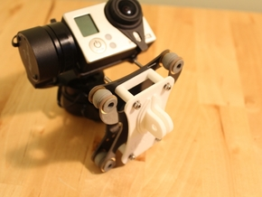 Feiyu Tech G3 (FY G3) Gimbal - GoPro Mount in White Strong & Flexible