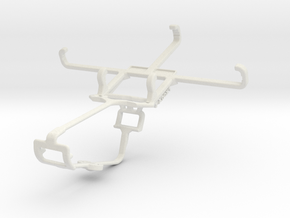 Controller mount for Xbox One & Celkon A407 in White Natural Versatile Plastic