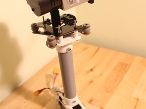 Feiyu Tech G3 (FY G3) Hand Held Brushless Gimbal in White Natural Versatile Plastic