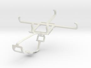 Controller mount for Xbox One & Celkon Campus Prim in White Natural Versatile Plastic