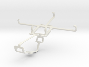 Controller mount for Xbox One & HTC 10 in White Natural Versatile Plastic