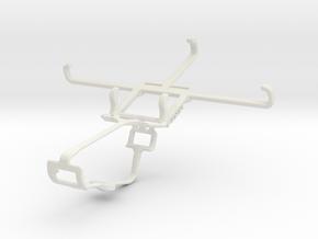 Controller mount for Xbox One & Meizu m1 in White Natural Versatile Plastic