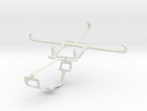 Controller mount for Xbox One & Meizu MX5 in White Natural Versatile Plastic