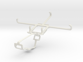 Controller mount for Xbox One & Micromax Canvas Me in White Natural Versatile Plastic