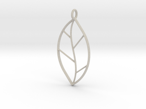The One Leaf in Natural Sandstone