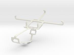 Controller mount for Xbox One & Microsoft Lumia 65 in White Natural Versatile Plastic