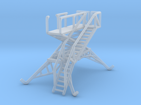 Aircraft crew boarding platform in Smooth Fine Detail Plastic: 1:144