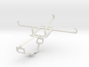 Controller mount for Xbox One & NIU Tek 5D in White Natural Versatile Plastic
