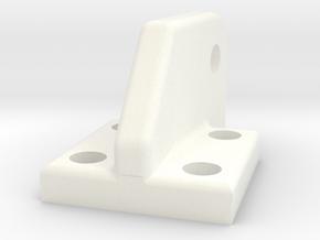 Wessex UC Boss Left in White Processed Versatile Plastic