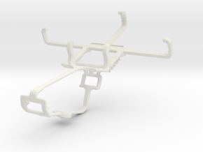 Controller mount for Xbox One & Parla Sonic 3.5S in White Natural Versatile Plastic