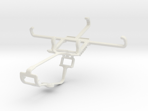 Controller mount for Xbox One & Plum Axe LTE in White Natural Versatile Plastic