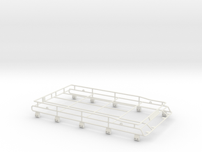 Roofrack D110 Adventure Team Raffee 1/3 in White Natural Versatile Plastic