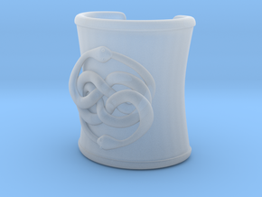 Roman Cuff Neverending Story in Smooth Fine Detail Plastic