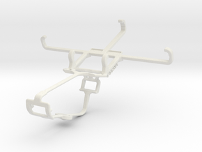 Controller mount for Xbox One & Samsung Galaxy J1  in White Natural Versatile Plastic