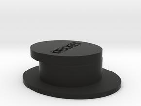 GPS Dash Hook Knuckies - Stickers Not Included in Black Natural Versatile Plastic