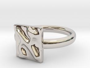 01 Alef Ring in Platinum: 5 / 49