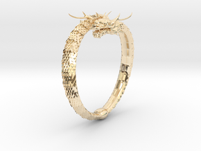 Dragon Ring in 14K Yellow Gold