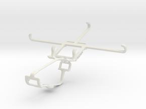 Controller mount for Xbox One & vivo X5Max Platinu in White Natural Versatile Plastic
