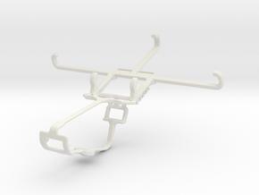 Controller mount for Xbox One & ZTE Nubia Z9 mini in White Natural Versatile Plastic