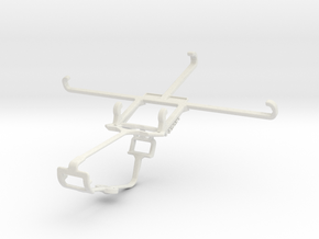 Controller mount for Xbox One & Apple iPhone 6 Plu in White Natural Versatile Plastic
