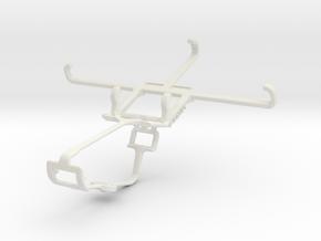 Controller mount for Xbox One & LG Nexus 5 in White Natural Versatile Plastic
