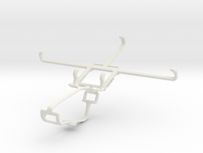 Controller mount for Xbox One & Oppo N1 in White Natural Versatile Plastic