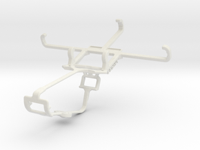 Controller mount for Xbox One & Samsung I9190 Gala in White Natural Versatile Plastic