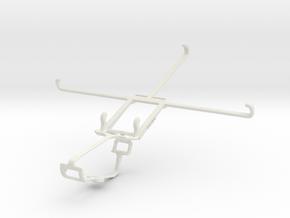Controller mount for Xbox One & Xiaomi Mi Pad 7.9 in White Natural Versatile Plastic